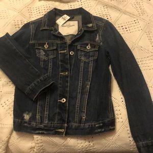 Girls Dark Jean jacket